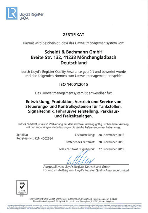 on sale fa1fa d6a8b Scheidt & Bachmann Environmental and Energy Management ...